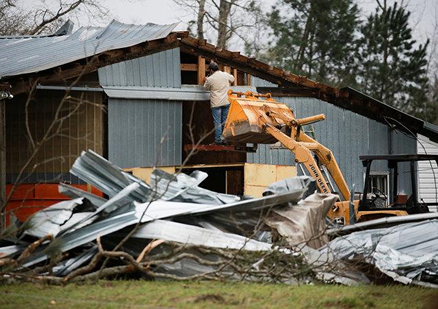 Consecuencias de los tornados en el estado de Alabama