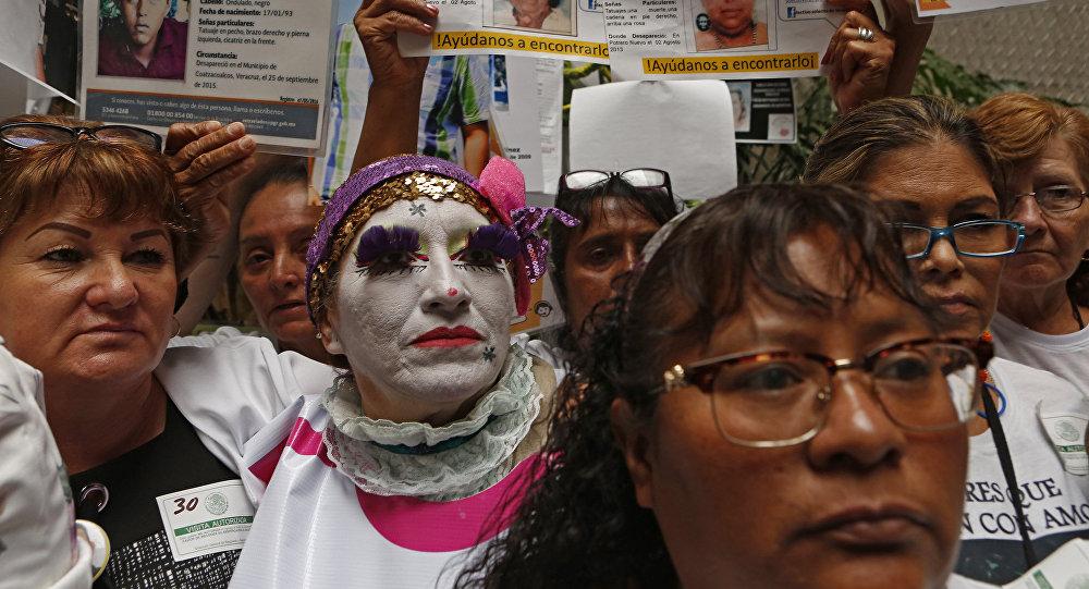 Madres de desaparecidos en México