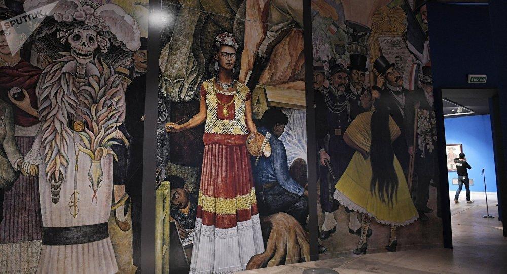 La muestra 'Viva la Vida. Frida Kahlo y Diego Rivera. Pintura y arte gráfico de colecciones privadas y museos'
