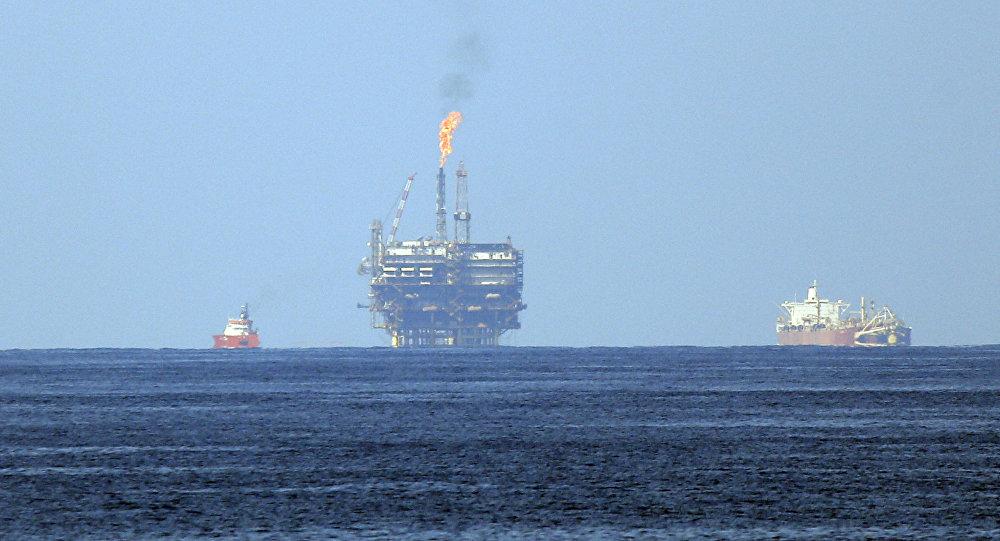 Una plataforma de gas de la petrolera ENI