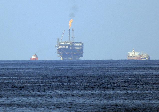 Una plataforma de gas de la petrolera ENI (imagen referencial)