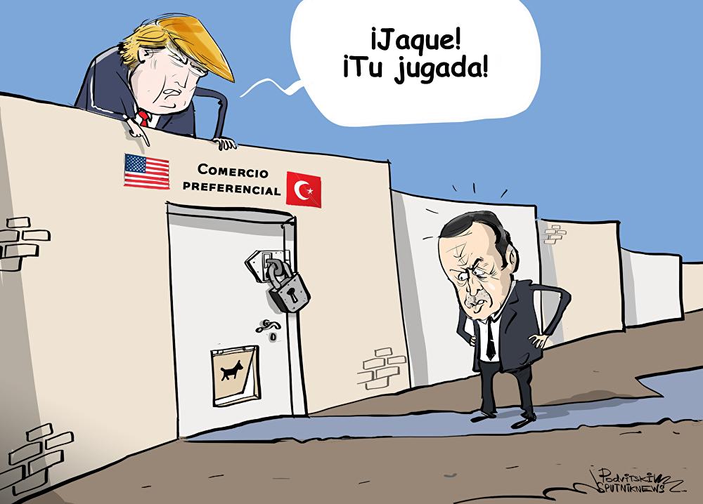 EEUU considera que Turquía es 'demasiado desarrollada' para el comercio preferencial