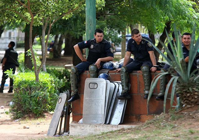 La Policía de Paraguay (archivo)
