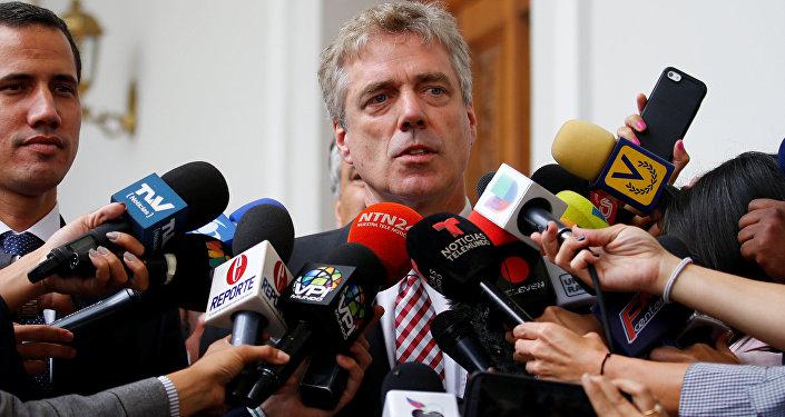 El embajador de Alemania en Venezuela, Daniel Kriener