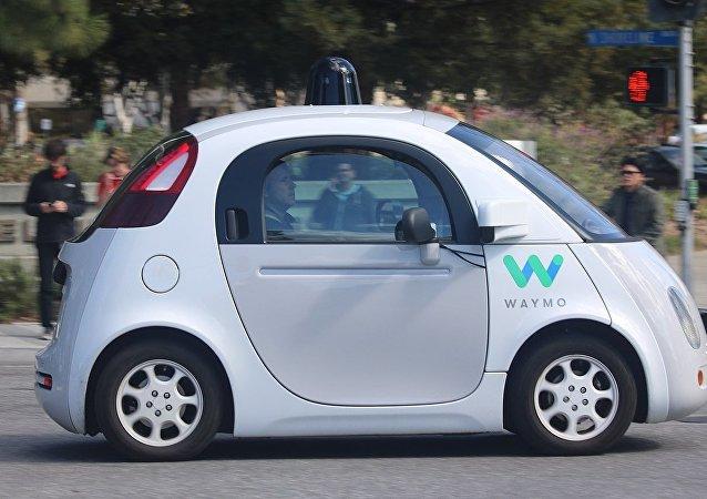 Un vehículo autónomo