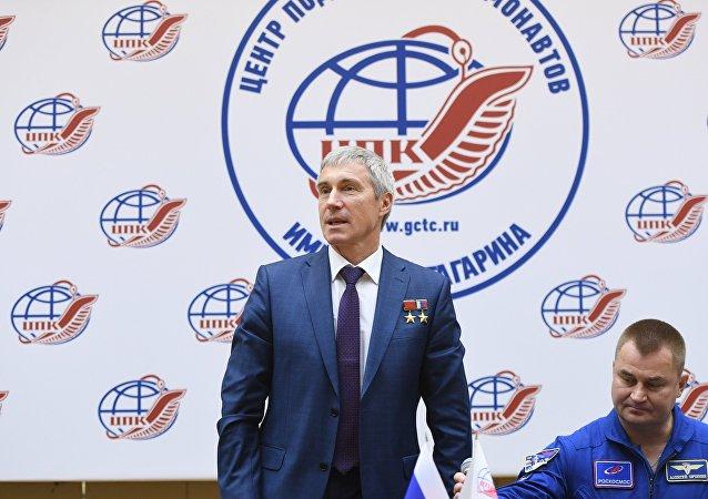 Serguéi Krikaliov, cosmonauta ruso y director ejecutivo de Programas Tripulados de la corporación espacial Roscosmos