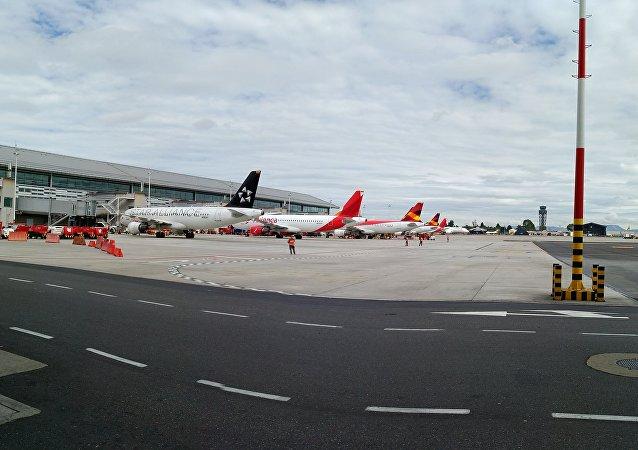 El aeropuerto de Bogotá