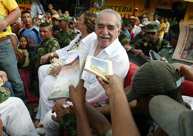 El escritor Gabriel García Márquez en 2007