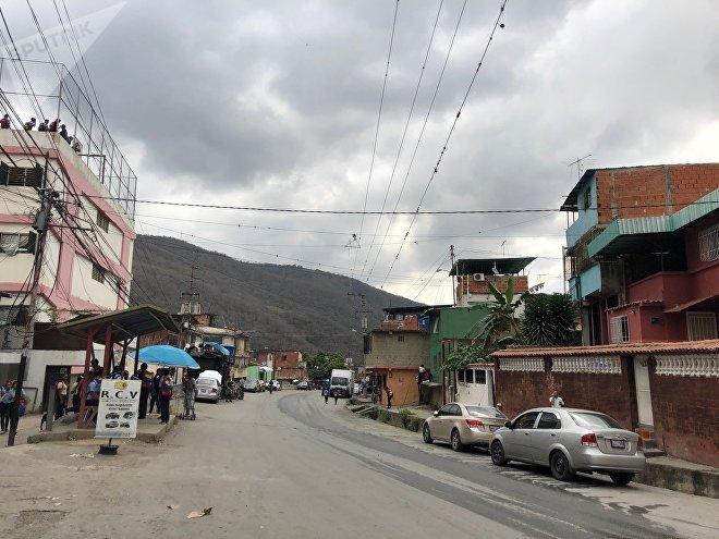Sector de El Carmen, en la Parroquia de Caucagüita, en el Municipio Sucre, en Caracas