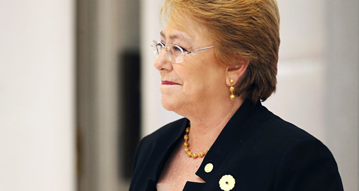 Michelle Bachelet , Alta Comisionada de la ONU para los Derechos Humanos (archivo)