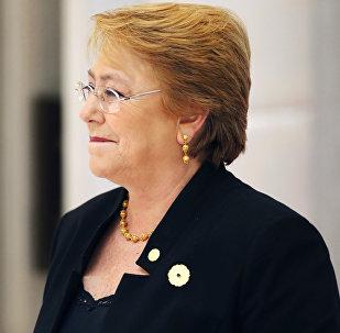 Michelle Bachelet, la Alta Comisionada de la ONU para DDHH