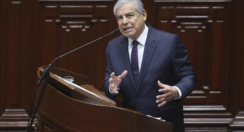 César Villanueva, primer ministro de Perú