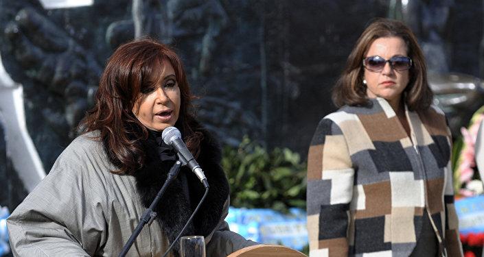 Expresidenta argentina Cristina Fernández (archivo)
