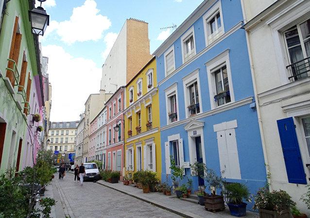 La calle Crémieux, en París.