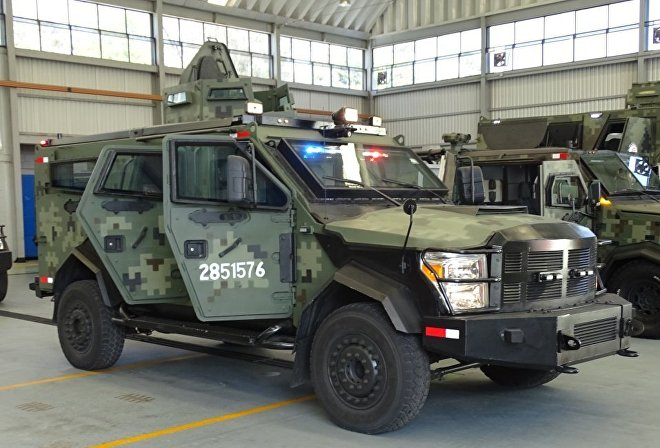 El vehículo táctico DN-IX