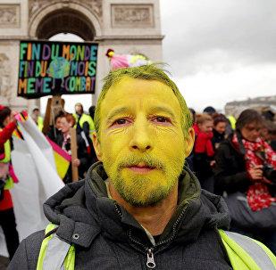 Las protestas de los 'chalecos amarillos' en Francia