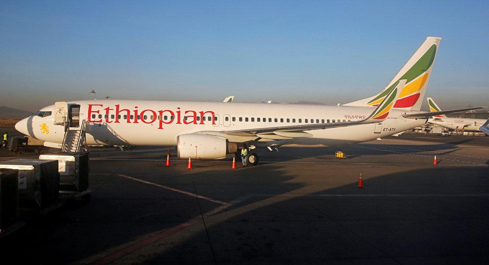 Un Boeing 737 de Ethiopian Airlines