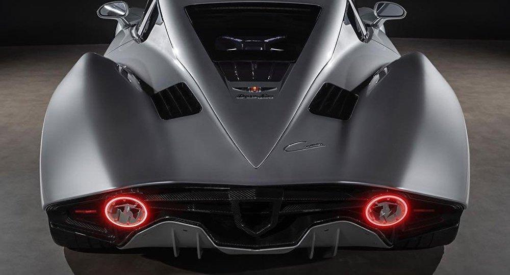Carmen, vehículo eléctrico de la marca Hispano Suiza