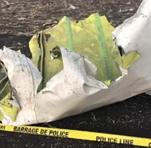 Las imágenes del lugar de la tragedia con el Boeing 737 de Ethiopian Airlines