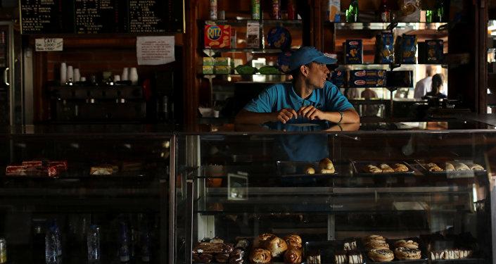 Apagón en Caracas (archivo)