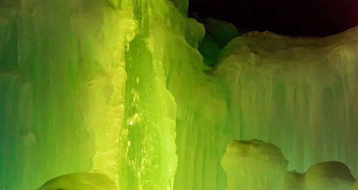 Hielo verde (Archivo)