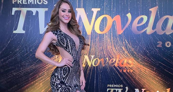 Yanet García, presentadora de Televisa