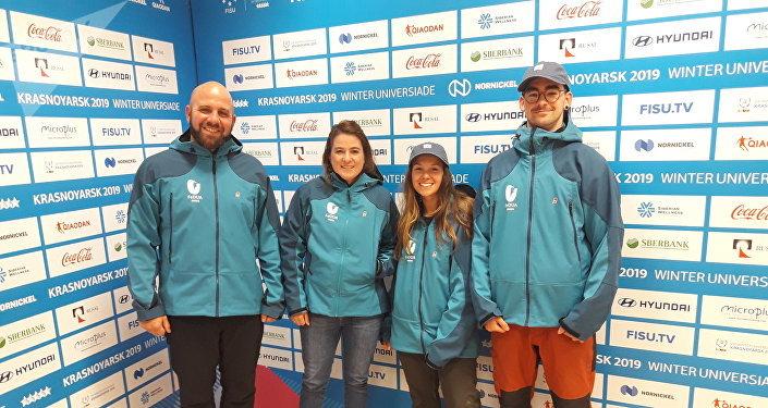 Agustina Pardo, la primera atleta argentina de snowboard en participar en una Universiada de Invierno