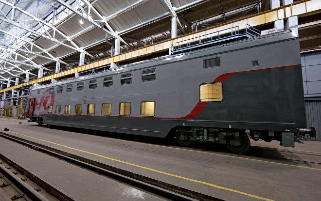 Trenes de Transmashholding en Rusia