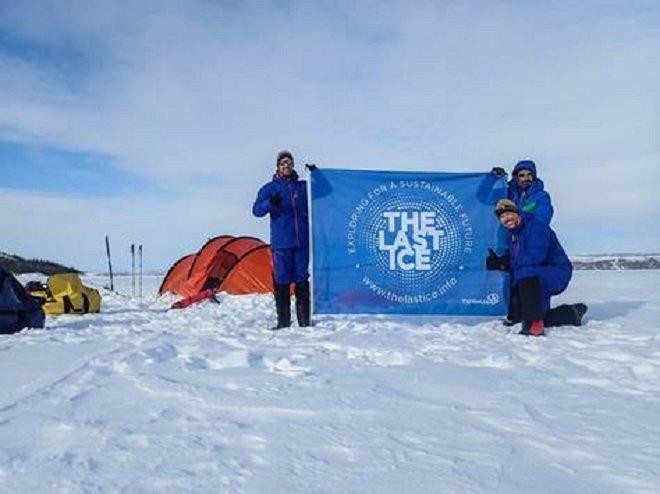 Los montañeros españoles que participan en la expedicion 'Los últimos hielos'