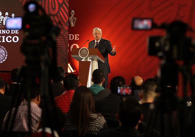 Andrés Manuel López Obrador, presidente de México (archivo)