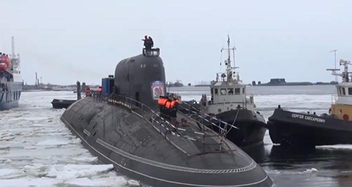 El submarino que pasará a formar parte de la Flota rusa a finales de 2019.