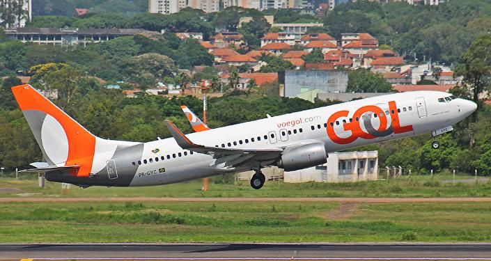 Un Boeing 737 de GOL (imagen referencial)