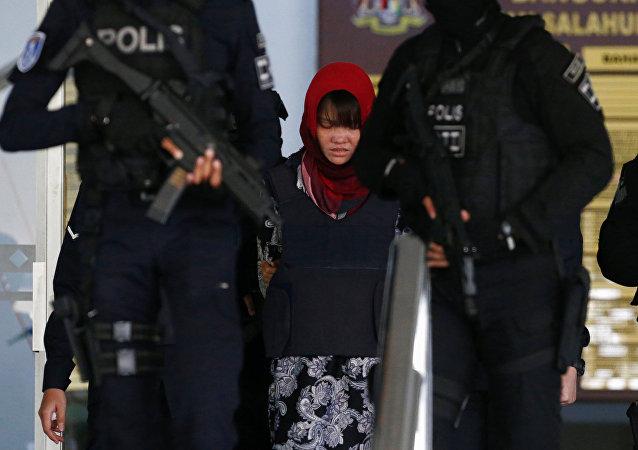 Doan Thi Huong, sospechosa de haber asesinado a Kim Jong-nam