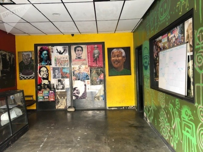 La Minka tiene espacios donde se llevan a cabo actividades culturales y recreativas, con foco en la juventud