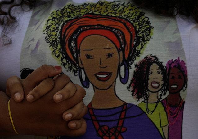 La imagen de Marielle Franco, consejala asesinada en Río de Janeiro