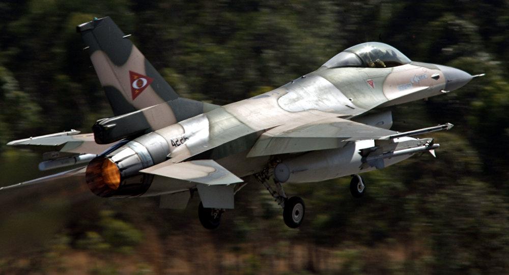 Un F-16 venezolano