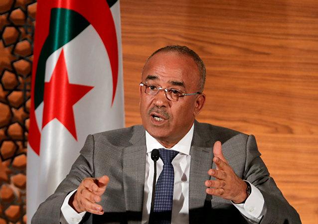 Ramtane Lamamra, vice primer ministro y canciller argelino