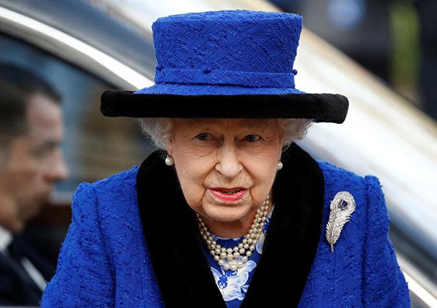 La reina británica, Isabel II