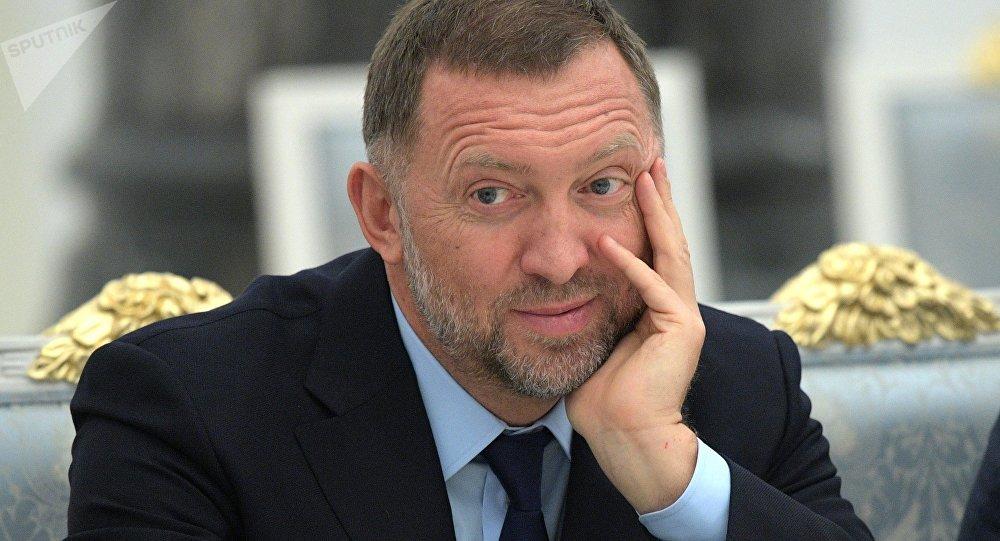 Oleg Deripaska, empresario ruso