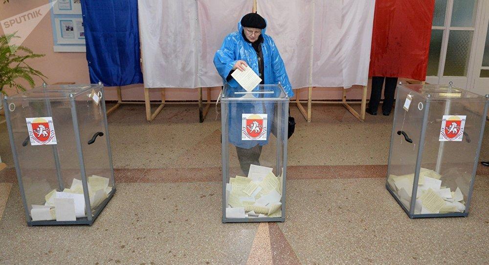 El referéndum sobre el estatus de Crimea en 2014