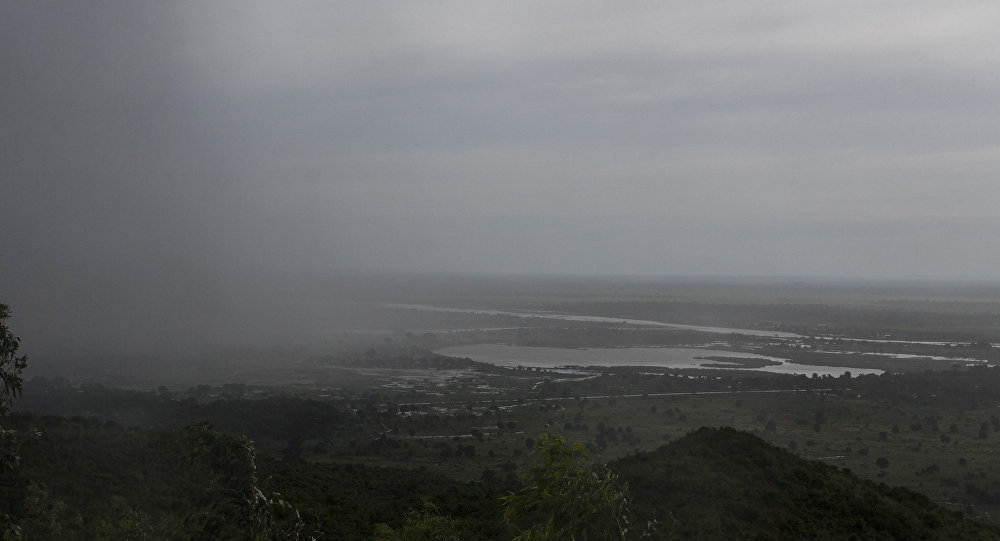 La llegada del ciclón tropical Idai