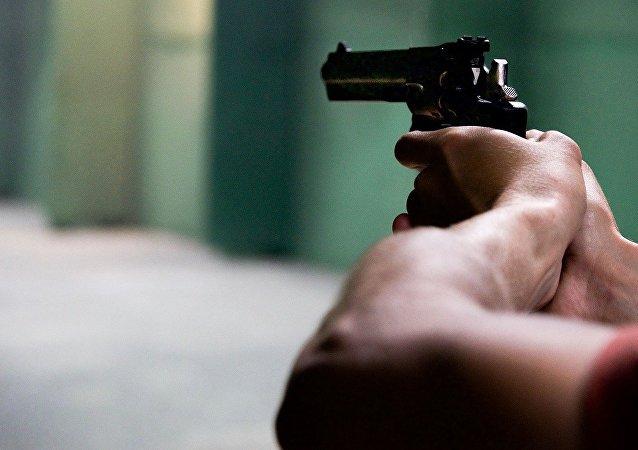 Una arma (imagen referencial)
