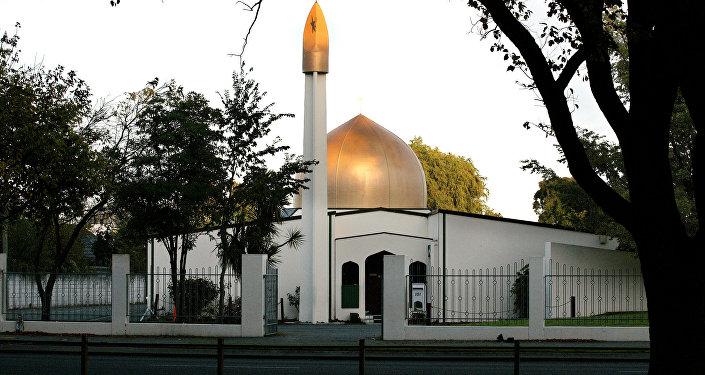 La mezquita Al Noor en Christchurch (Archivo)