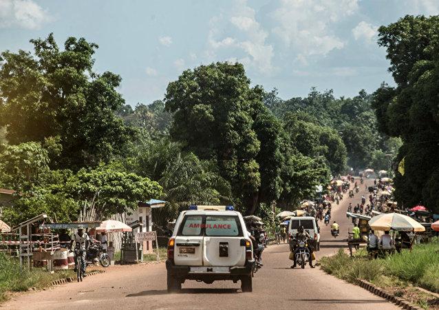 Ambulancia de la República Democrática de Congo (archivo)