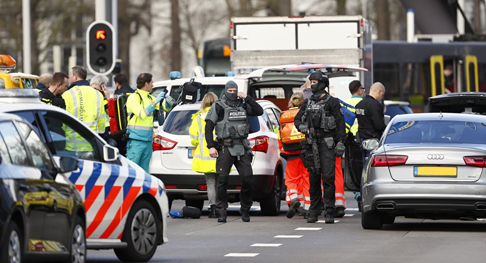 Reportan varios heridos tras un tiroteo en la ciudad holandesa de Utrecht