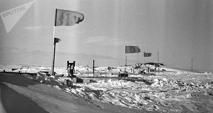 La estación Mirni, la primera estación sovietica en la Antártida