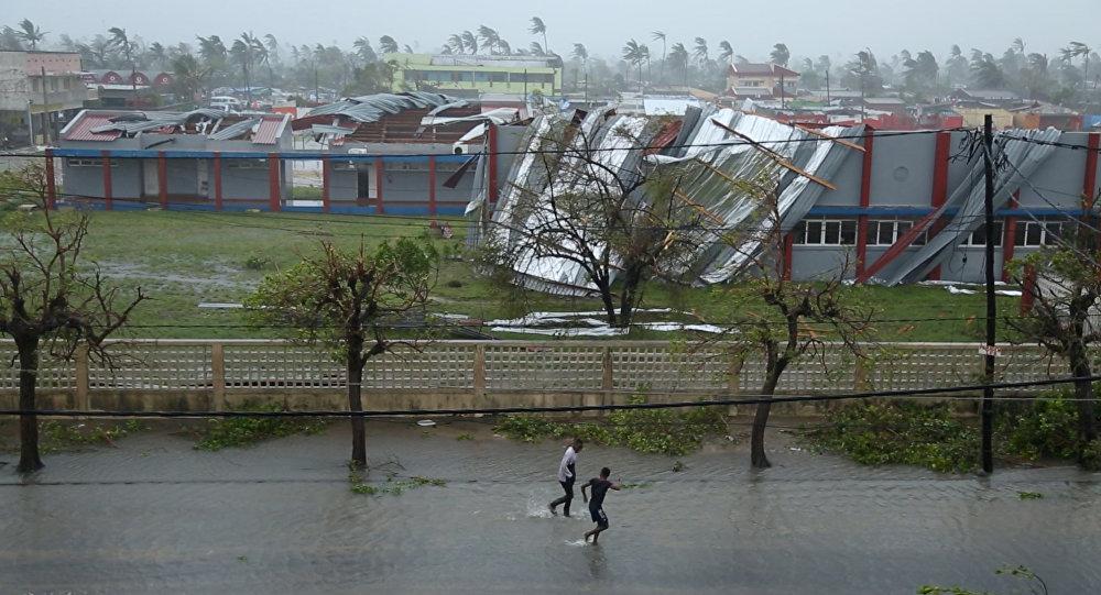 Zonas afectadas por el ciclón Idai en Mozambique