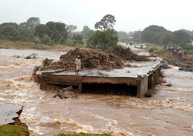 Ciclón Idai en Zimbabue