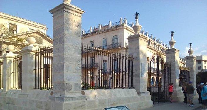 El Templete de La Habana, Cuba