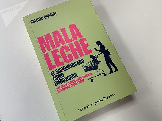 Portada del libro Mala Leche de Soledad Barruti.